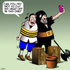 Cartoon: Selfie (small) by toons tagged guillotine,selfie,beheading,photography,executioner,historical