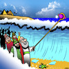 Cartoon: Selfie stick (small) by toons tagged moses,bible,selfie,stick,camera,miracles,children,of,israel