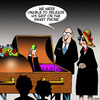 Cartoon: Smart phone (small) by toons tagged funeral,smart,phone,coffin,vice,grip,death,social,media,facebook,addiction