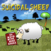 Cartoon: suicidal sheep (small) by toons tagged suicide,sheep,depression,mint,sauce