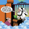 Cartoon: Terms and conditions (small) by toons tagged gates,of,heaven,lies,terms,and,conditions,truth