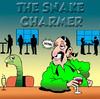 Cartoon: The snake charmer (small) by toons tagged snake,charmer,bars,pubs,circus,romance,dating,animals,relationships,pick,up,lines,love,spiv,online