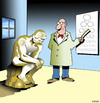Cartoon: The Thinker needs glasses (small) by toons tagged optometrist,optometry,glasses,the,thinker