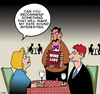 Cartoon: The wine list (small) by toons tagged wine,list,waiters,boring,vino,uninteresting,drunk,restaurants