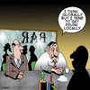 Cartoon: Think Globally (small) by toons tagged globalization,drinking,think,globally