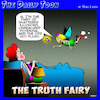 Cartoon: Tooth fairy (small) by toons tagged truth,fairy,hot,flushes,unfulfilled,potential,shattered,dreams,menopause,fairies