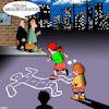Cartoon: tough neighbourhood (small) by toons tagged hopscotch,tough,neighbourhood,chalk,outline,crime,scene,murder