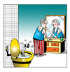 Cartoon: up periscope (small) by toons tagged periscope,submarine,aquatic,toilet,bathroom,bizarre,ships,mirrors,navy