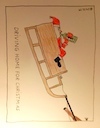 Cartoon: Driving home for Christmas (small) by Müller tagged weihnachtsmann santaclaus santa drivinghomeforchristmas