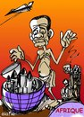 Cartoon: nouriture contre les bombes (small) by alafia47 tagged alafia la famine les armes