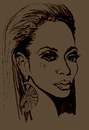 Cartoon: BEYONCE (small) by Toonstalk tagged singer entertainer grammy winner destinys child jayz