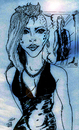 Cartoon: Blue Image (small) by Toonstalk tagged mirror blue women night evening enchanting tatoo new style