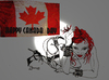 Cartoon: HAPPY CANADA DAY JULY 1ST 2011 (small) by Toonstalk tagged canada,fun,birthday,sexy,sensual,spikes,and,heals,celebrations,flags,fireworks
