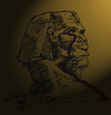Cartoon: The Witness (small) by Toonstalk tagged sphinx,egypt,change,violence,witness,sacrifice,will,survival,history,blood,killing,political,mankind,solutions
