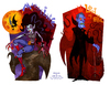 Cartoon: Small evil family (small) by Garvals tagged marceline,vampire,demon,monster,adventure,time