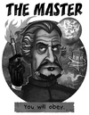 Cartoon: The Master (small) by Garvals tagged dr,who,master,villain