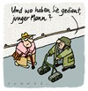 Cartoon: Panzer (small) by schwoe tagged panzer,rollator,gehhilfe,senior,militär
