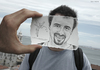 Cartoon: Pencil Vs Camera - 25 (small) by BenHeine tagged pencil,vs,camera,imagination,reality,drawing,photography,ben,heine,creative,portrait,face,fee,clochette,tinkerbell,fairy,sebastien,walt,disney,man,homme,friendship,seaside,sac,dos,traveller,aventurier,bouc,hand,conceptual,art