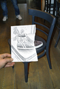 Cartoon: Pencil Vs Camera for TV Brussel (small) by BenHeine tagged pencil,vs,camera,art,shoe,ben,heine,photography,drawing,chaussure,gallery,garden,tvbrussel,report,video,chair,making