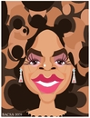 Cartoon: Oprah winfrey (small) by bacsa tagged oprah