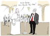 Cartoon: Papst Gender-Gap (small) by Pfohlmann tagged 2020,kirche,katholisch,papst,frauen,gender,pay,gap,gleichberechtigung,ämter,zölibat,ehe,priestertum,priester