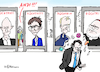 Cartoon: Rücktritts-Serie (small) by Pfohlmann tagged 2020,deutschland,rücktritt,rücktritte,serie,kemmerich,thüringen,akk,kramp,karrenbauer,cdu,fdp,csu,scheuer,andi,verkehrsminister,klinsmann,marx,kardinal,trainer