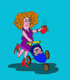 Cartoon: mutter Erziehung (small) by sabine voigt tagged mutter,erziehung,kleinkind,buge,kindergarten,krabbelgruppe