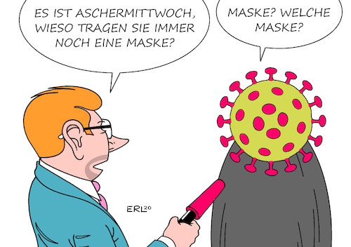 Cartoon: Aschermittwoch (medium) by Erl tagged politik,karneval,fastnacht,fasching,aschermittwoch,maskerade,maske,coronavirus,china,europa,epidemie,pandemie,krankeit,infektion,virus,karikatur,erl,politik,karneval,fastnacht,fasching,aschermittwoch,maskerade,maske,coronavirus,china,europa,epidemie,pandemie,krankeit,infektion,virus,karikatur,erl