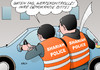 Cartoon: Scharia-Polizei (small) by Erl tagged scharia,polizei,shariah,police,wuppertal,patrouille,streife,islam,islamismus,recht,gesetz,demokratie,werte,rechtsstaat,kontrolle,verkehrskontrolle
