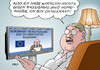 Cartoon: Versteckter Rassismus II (small) by Erl tagged europarat,eu,bericht,deutschland,rassismus,homophobie,versteckt,hautfarbe,homosexualität