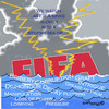 Cartoon: FIFA sinking into a stormy sea (small) by EASTERBY tagged fifa,bribery,corruption