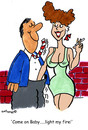 Cartoon: Fire my light (small) by EASTERBY tagged girls