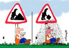 Cartoon: HANDWERKER PAUSE (small) by EASTERBY tagged handwerker,pause