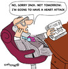 Cartoon: HEART FORECAST (small) by EASTERBY tagged business,appoinments,health,heart,attack