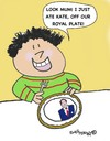 Cartoon: Royal Wedding (small) by EASTERBY tagged royal,wedding,william,kate,marriage,souvenir