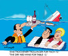 Cartoon: In veritas vino 2 (small) by EASTERBY tagged wine,cruise,shipwrecks