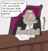 Cartoon: LAW IS LAW (small) by EASTERBY tagged judge,law