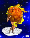 Cartoon: Birth of Venus (small) by Munguia tagged venus,boticellis