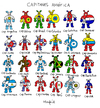 Cartoon: Captains America (small) by Munguia tagged america,latina,north,central,costa,rica,jamaica,honduras,bolivia,argentina,chile,cuba,canada,el,salvador,guatemala,nicaragua,brasil,brazil,eua,usa,comic,super,heroes,venezuela,colombia,peru,puerto,rico,paraguay,uruguay,haiti