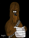 Cartoon: Chubacca (small) by Munguia tagged portrait,of,antonietta,gonzalez,lavinia,fontana,horror,famous,paintings,parodies