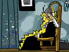 Cartoon: Electric Chair (small) by Munguia tagged arrangement in grey and black no james mcneil whistler whisters mother famous paintings parodies horror