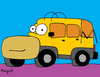 Cartoon: Hommer (small) by Munguia tagged hummer homer simpson car automovil munguia calcamunguia parody tv costa rica