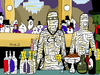 Cartoon: Mummy (small) by Munguia tagged bar,at,the,folies,bergere,edouard,manet,mummy