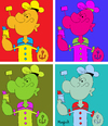 Cartoon: POP-Peye (small) by Munguia tagged pop popeye andy warhol popular cartoon character tv classic sailor
