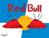Cartoon: Red Dead Bull (small) by Munguia tagged bull,fight,toro,munguia,stadium,redbull,red,dead,blood,killing,kill