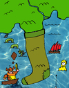 Cartoon: the sock (small) by Munguia tagged italy