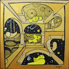 Cartoon: Woodstock (small) by Munguia tagged other,world,mc,escher,penuts,snoopy,woodstock,yellow,bird