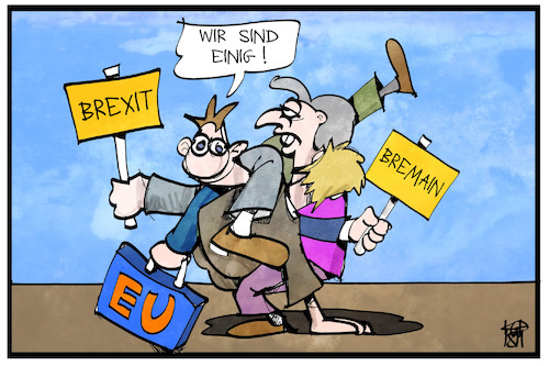 Cartoon: Brexit (medium) by Kostas Koufogiorgos tagged karikatur,koufogiorgos,illustration,cartoon,brexit,bremain,eu,einigung,europa,uk,deal,politik,karikatur,koufogiorgos,illustration,cartoon,brexit,bremain,eu,einigung,europa,uk,deal,politik