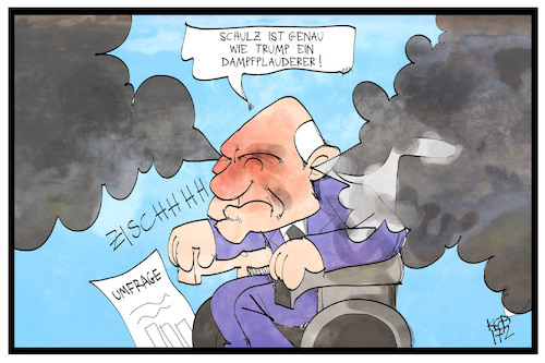 Cartoon: Dampfplauderer (medium) by Kostas Koufogiorgos tagged karikatur,koufogiorgos,illustration,cartoon,schäuble,dampf,dampfplauderer,umfrage,partei,konkurrenz,karikatur,koufogiorgos,illustration,cartoon,schäuble,dampf,dampfplauderer,umfrage,partei,konkurrenz