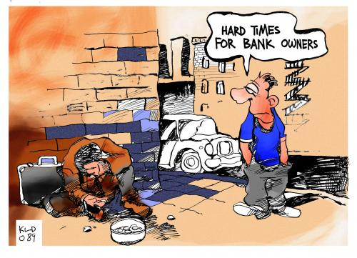 Hard times for bank owners